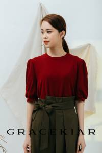 T0844 Puffy Sleeves T-shirt