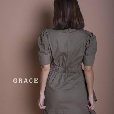 D0555 Ruffles Dress
