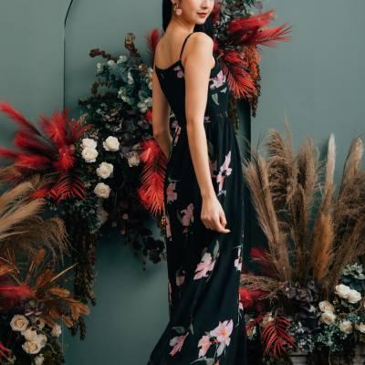 D0651 Floral Prints Dress