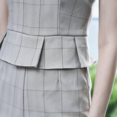 J0178 Checkered Jumpsuit