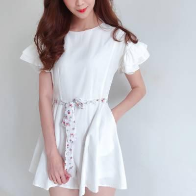 J0194 Butterfly Sleeves Jumpsuit