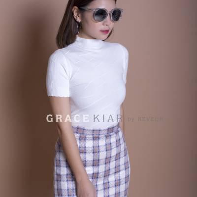 S0167 Plaid Skirt