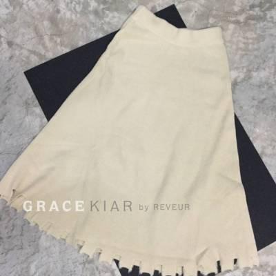 S0172 Irregular Long Skirt