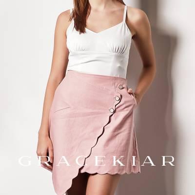 S0238 Asymmetrical A-line skirt