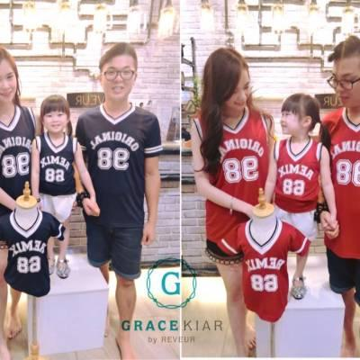 T0486/CH0091 Family Sporty Tee (Adult&Child)