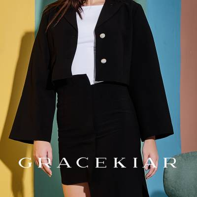 S0241 Asymmetrical Length Skirt