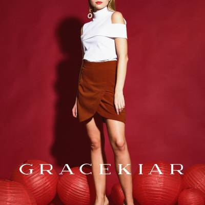 S0249 Tulip A-Line Skirt