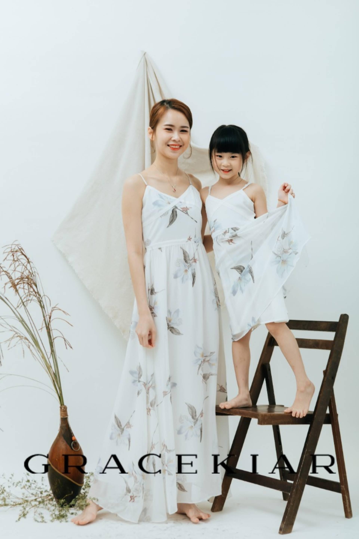 CH0154 Floral Prints Dress
