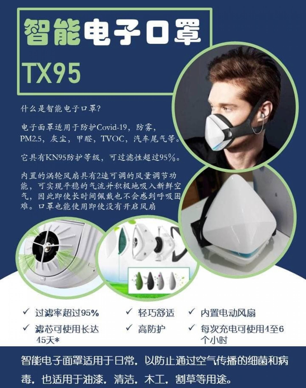 FM003 / FM004 Electronic mask