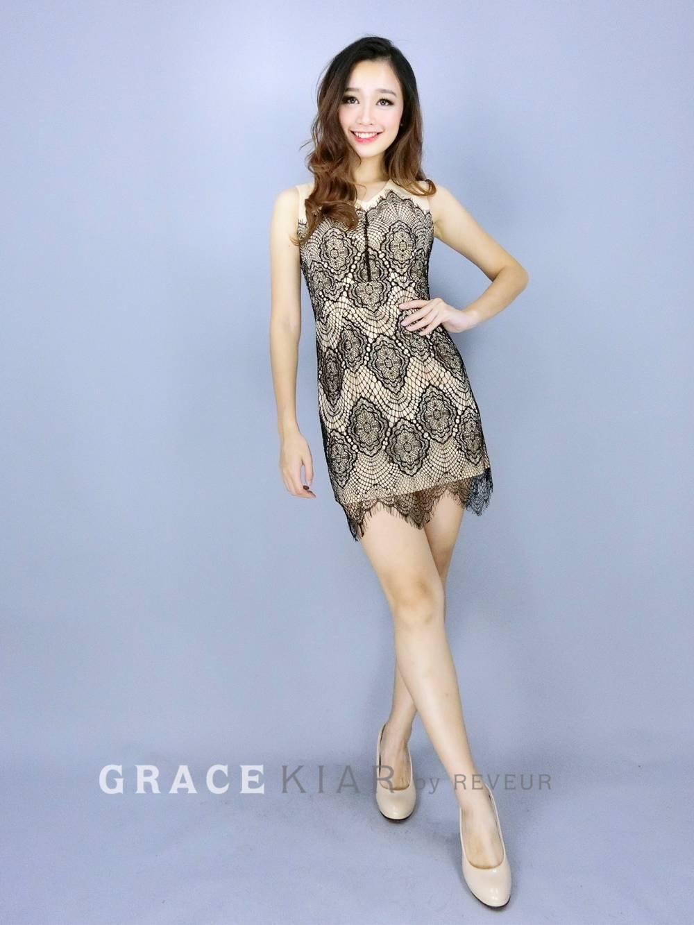 D0288 Lacey dress