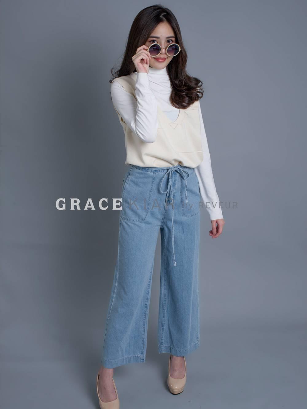 LP0075 Drawstring Jeans