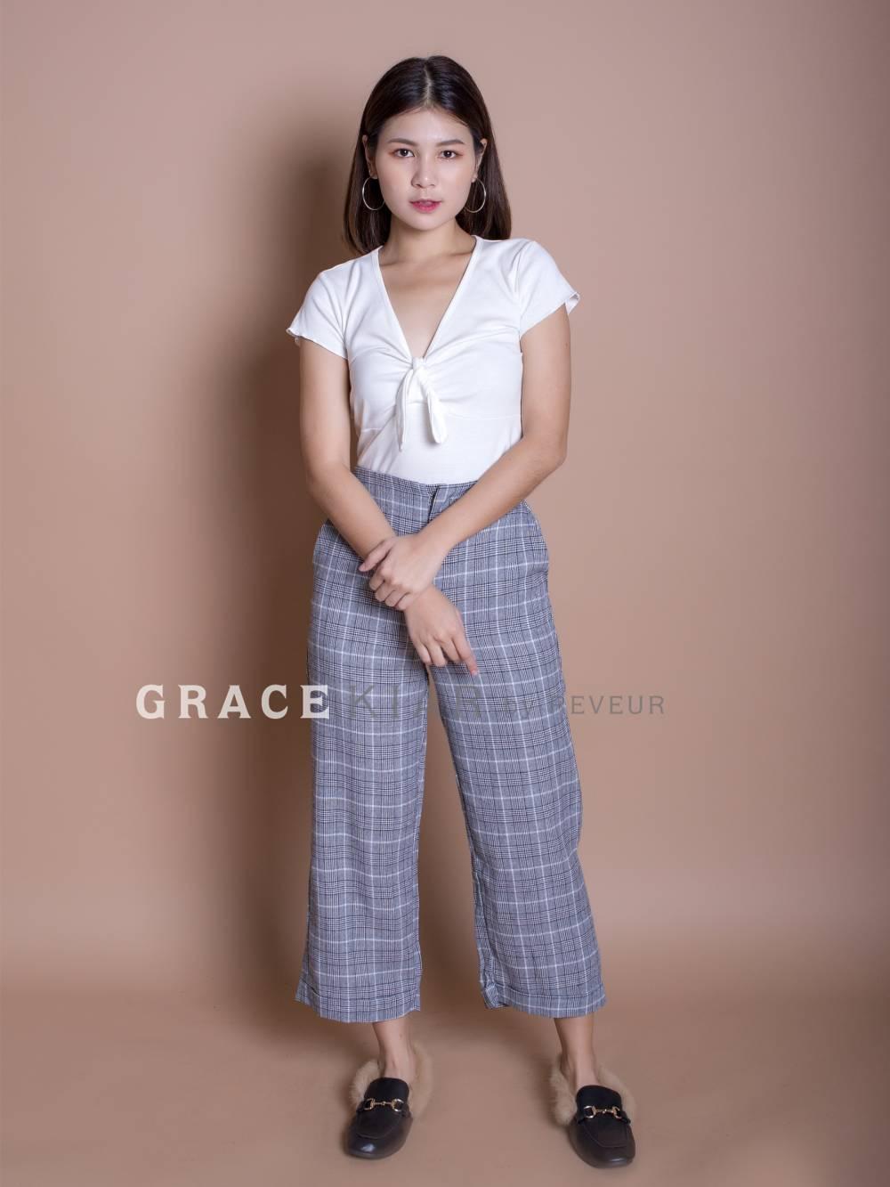 LP0057 Plaid Long Pant
