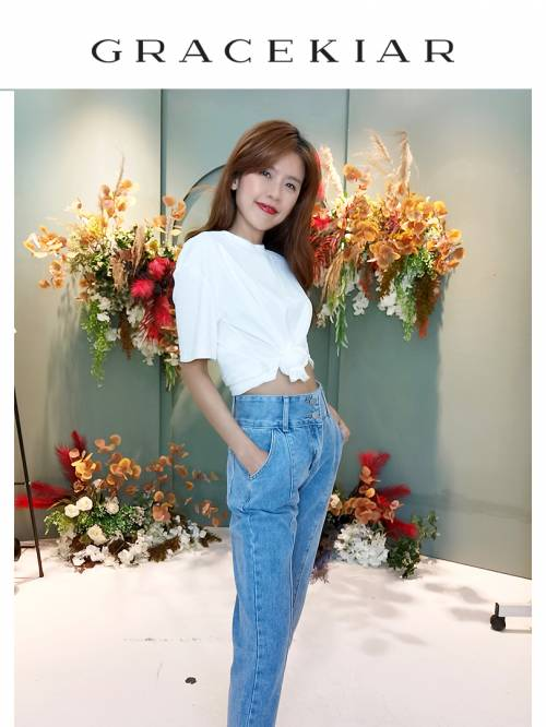 LP0140 Straight Jeans