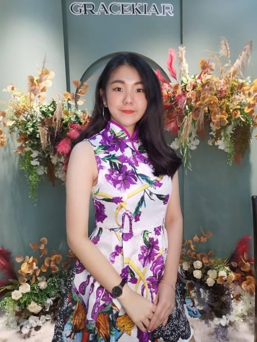 D0572 Purple Dress