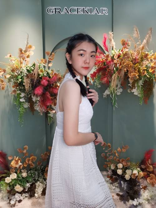 D0023 White Dress
